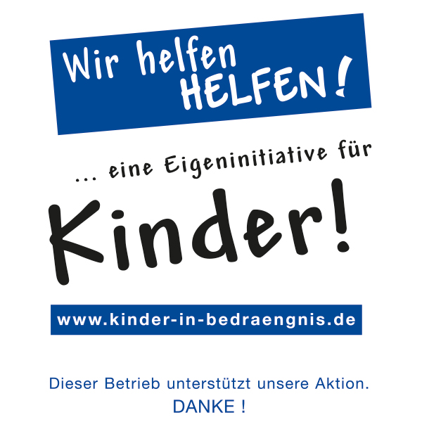 Kinder in Bedrängnis - Engagement